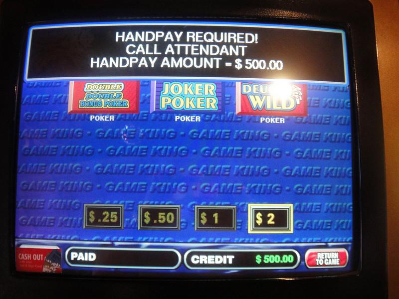 Hand for $500 !  (odd, I know)