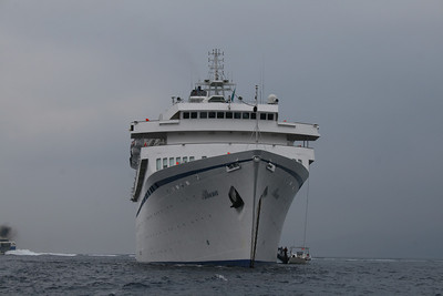 M/S ATHENA : front view.