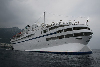 M/S ATHENA : altered stern.