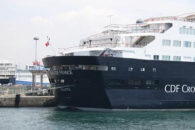 M/S BLEU DE FRANCE moored in Napoli.