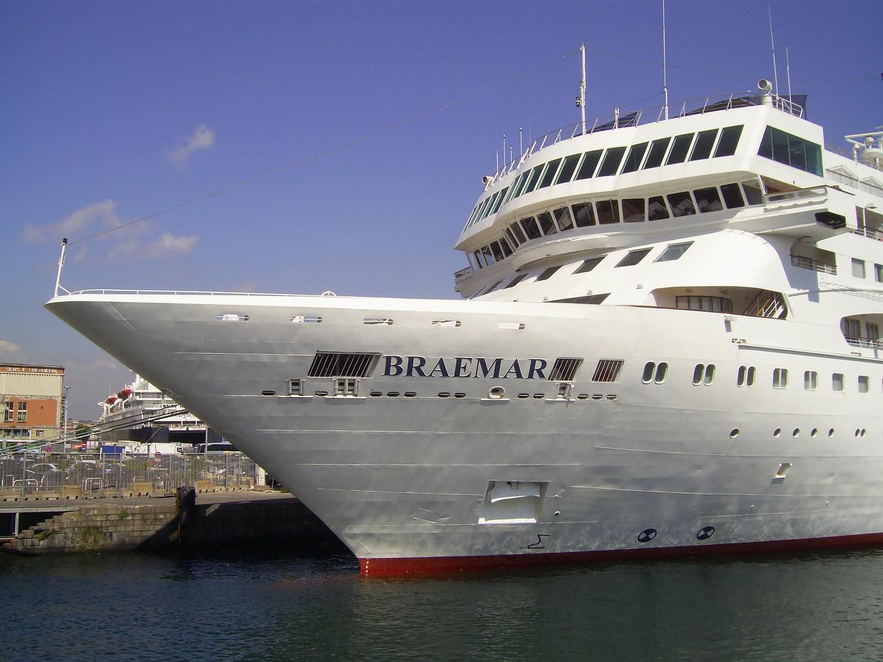2010 - M/S BRAEMAR in Napoli.