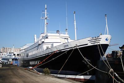 M/S CAPRI : works at shipyard in Napoli.