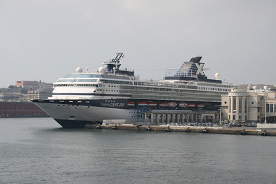 M/S CELEBRITY CENTURY moored in Napoli.
