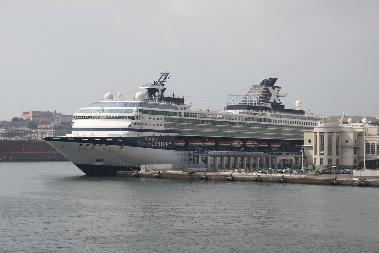 M/S CELEBRITY CENTURY moored in Napoli.