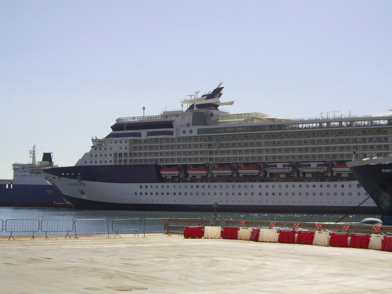 GTS CELEBRITY CONSTELLATION in Napoli.