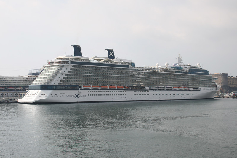 2009 - M/S CELEBRITY SOLSTICE in Napoli.
