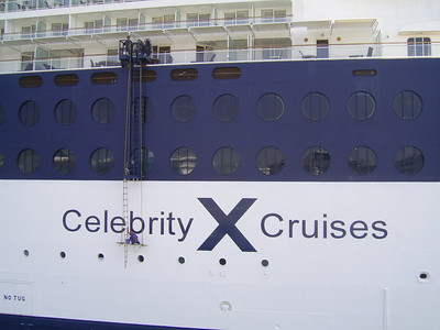 GTS CELEBRITY SUMMIT : washing windows.