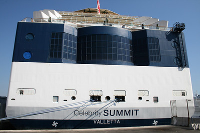 GTS CELEBRITY SUMMIT in Napoli. The stern.