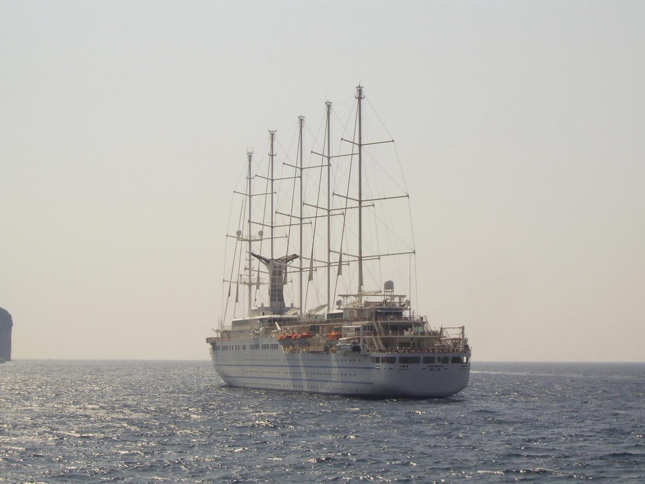 CLUB MED 2 offshore Capri.