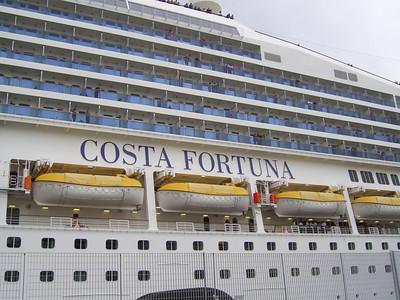 M/S COSTA FORTUNA in Napoli.