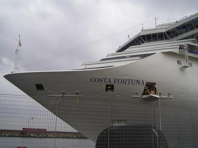 M/S COSTA FORTUNA mooring in Napoli.