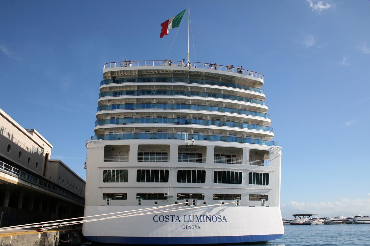 M/S COSTA LUMINOSA in Napoli.
