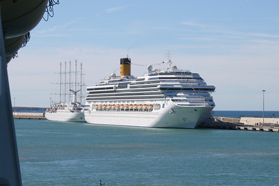 M/S COSTA PACIFICA in Civitavecchia.