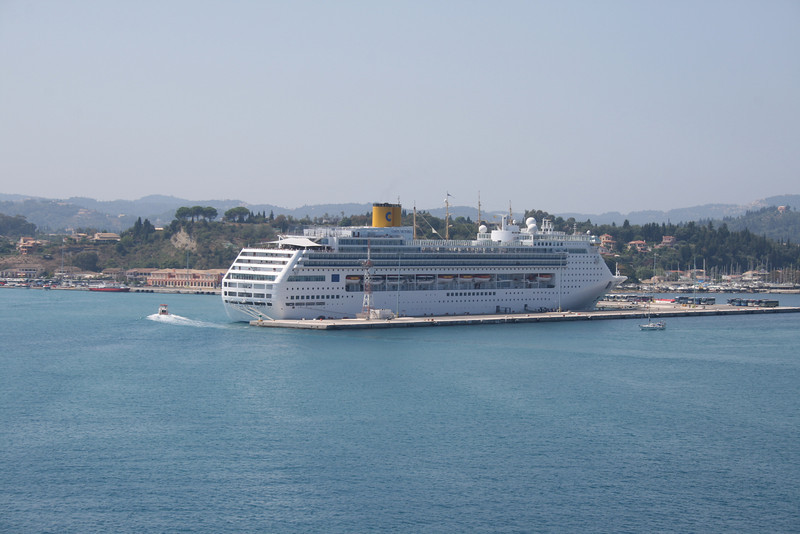 M/S COSTA VICTORIA in Corfu.