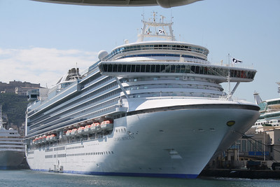 M/S CROWN PRINCESS in Napoli.