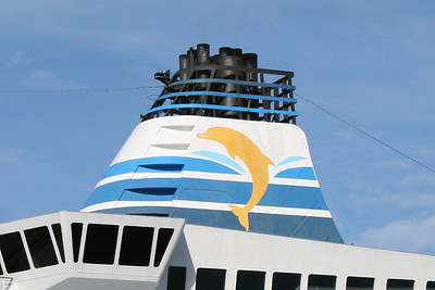M/S DELPHIN VOYAGER : the funnel.