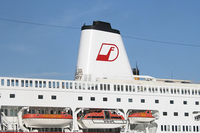 M/S DEUTSCHLAND : the funnel.