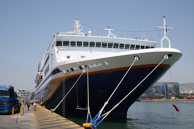 2011 . M/S EXPLORER in Piraeus.