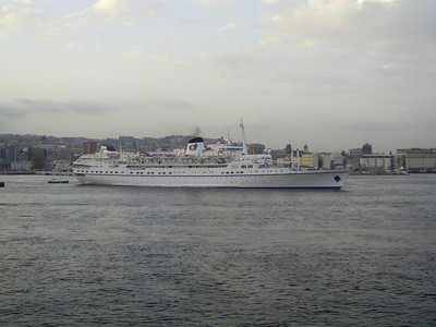 T/S FUNCHAL departing from Napoli.