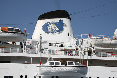 T/S FUNCHAL : the funnel.