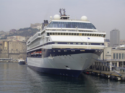 2007 - M/S GALAXY in Napoli.