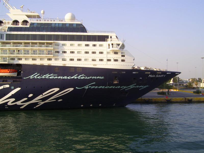 2012 - M/S MEIN SCHIFF 1 in Piraeus.