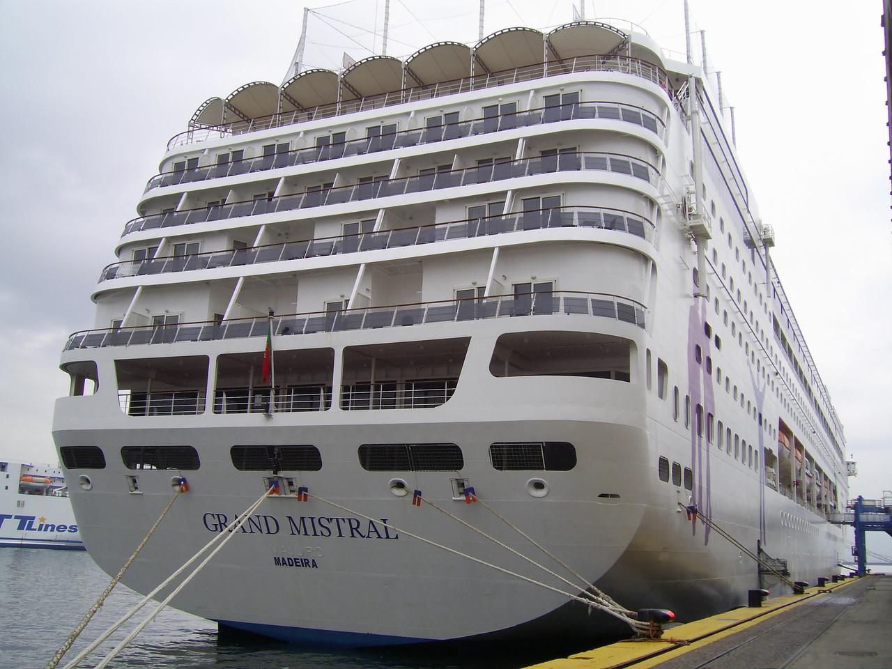 2010 - M/S GRAND MISTRAL in Napoli.