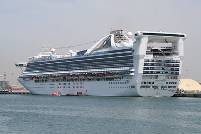 2008 - M/S GRAND PRINCESS in Civitavecchia.