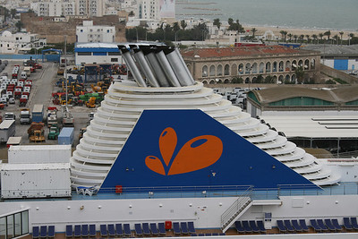 2009 - M/S GRAND VOYAGER : the funnel.