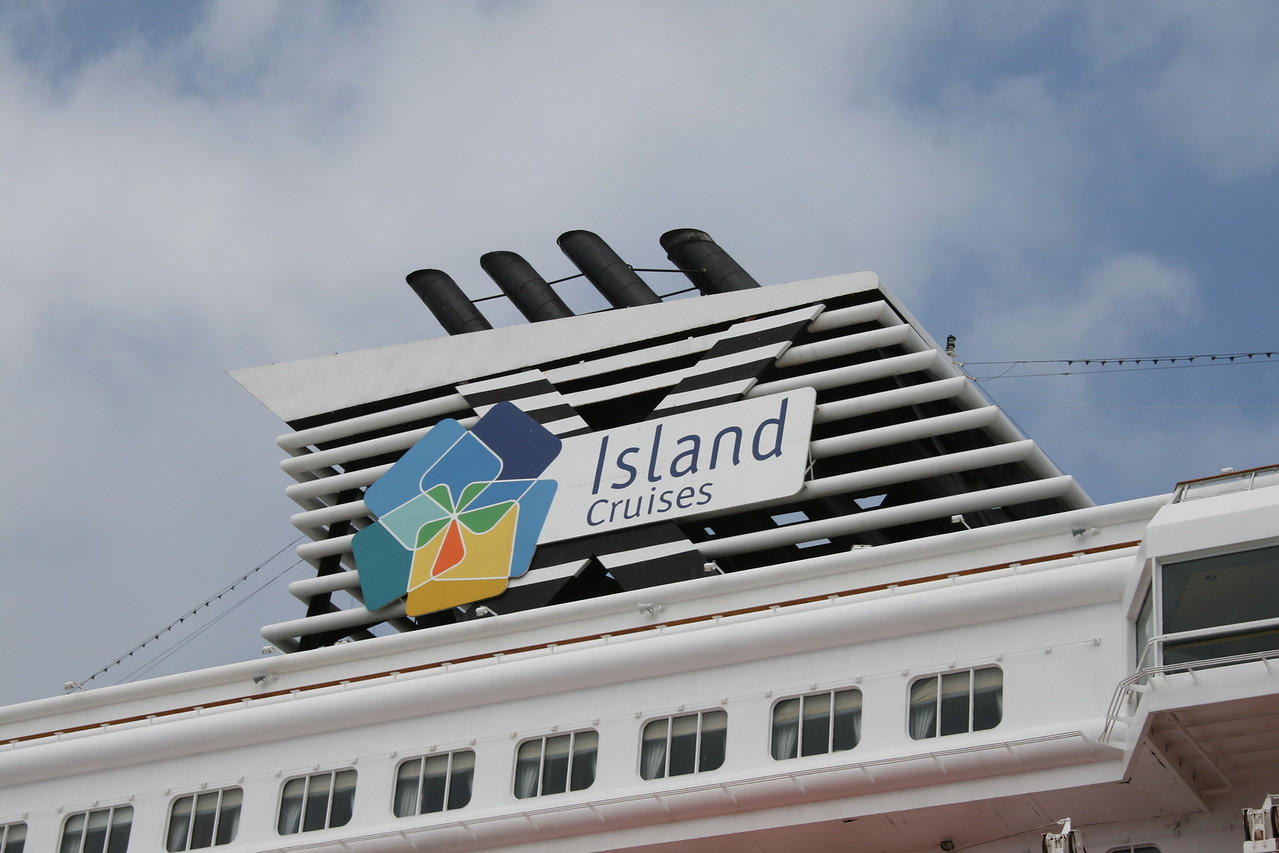 2008 - M/S ISLAND STAR : the funnel.