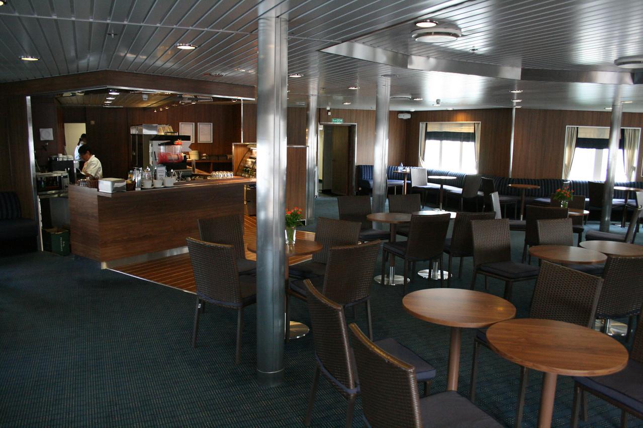2010 - On board M/S KRISTINA KATARINA : Cafè Katarina, deck 7.