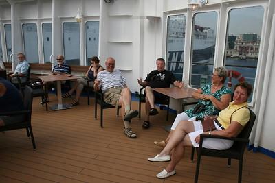 2010 - On board M/S KRISTINA KATARINA : happy cruisers.