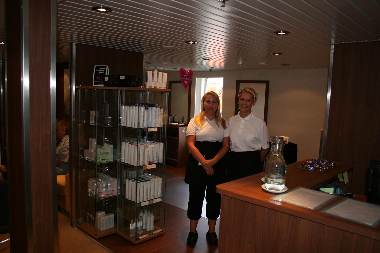 2010 - On board M/S KRISTINA KATARINA : Day SPA Mare, deck 8.