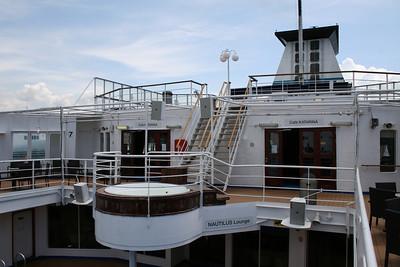 2011 - On board M/S KRISTINA KATARINA : deck 7.