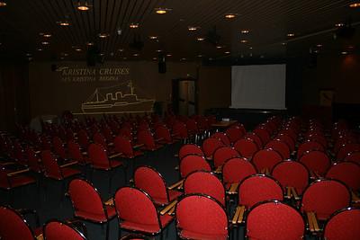 2009 - On board S/S KRISTINA REGINA : Baltic conference room, deck 3.