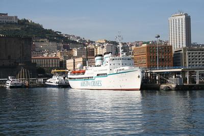 2009 - S/S KRISTINA REGINA in Napoli.