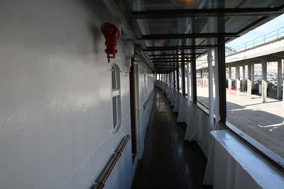 2009 - On board S/S KRISTINA REGINA : walkway, deck 4.