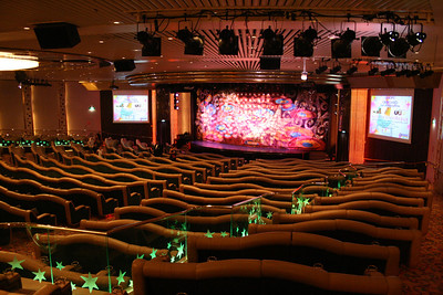 2009 - On board M/S LEGEND OF THE SEAS : That's Entertainment Theatre, deck 4.
