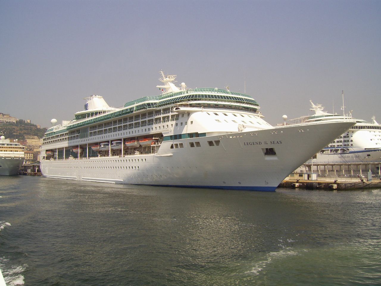 2007 - M/S LEGEND OF THE SEAS in Napoli.