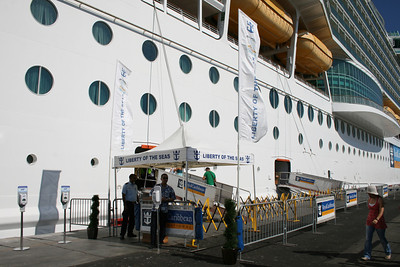 2011 - M/S LIBERTY OF THE SEAS in Civitavecchia.