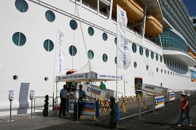 2011 - M/S LIBERTY OF THE SEAS in Civitavecchia.
