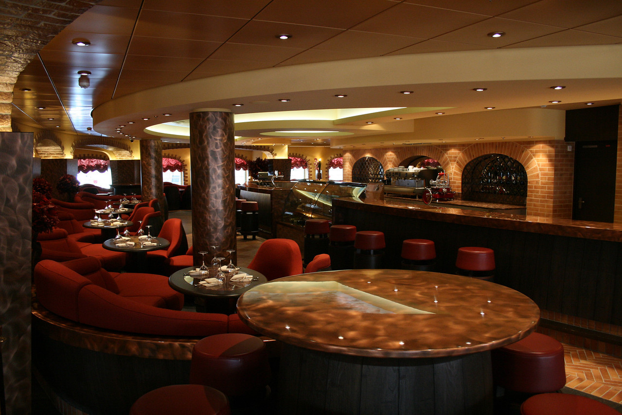 2009 - On board MSC FANTASIA : La Cantina Toscana.