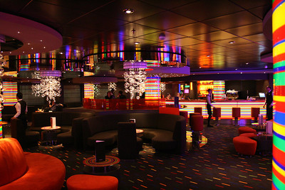 2009 - On board MSC FANTASIA : Manhattan bar.