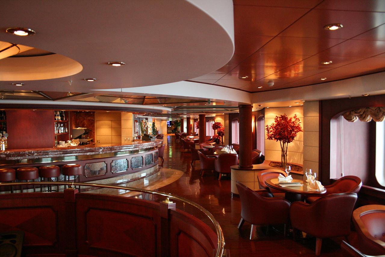 2008 - On board MSC MUSICA : l'Enoteca Wine bar.