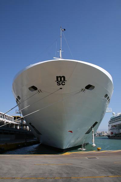 2009 - MSC MUSICA moored at Piraeus.
