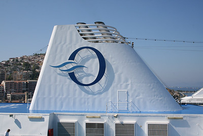 2009 - M/S NAUTICA in Kusadasi : the funnel.