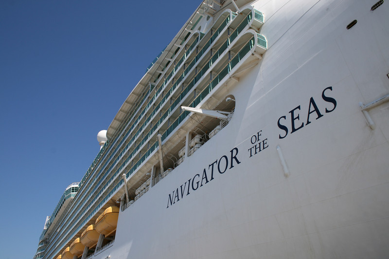 2010 - M/S NAVIGATOR OF THE SEAS in Seyne sur mer, Toulon.