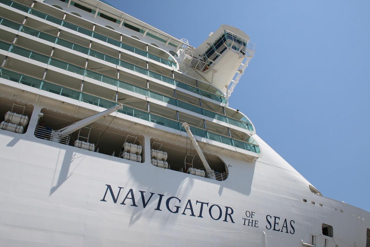 2010 - M/S NAVIGATOR OF THE SEAS in Seyne sur mer, Toulon.