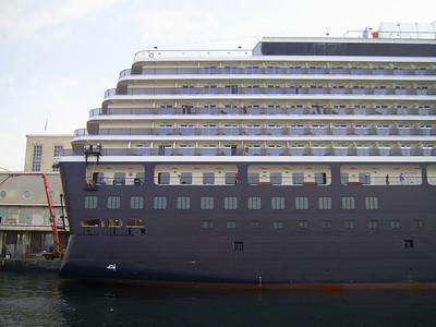 2010 - M/S NOORDAM in Napoli.