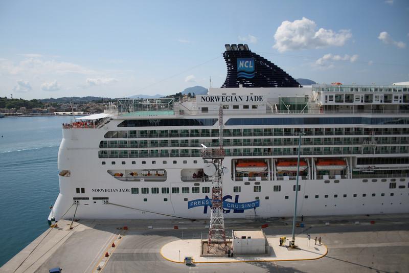 2008 - M/S NORWEGIAN JADE in Corfu.